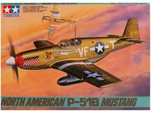 TAMIYA NORTH AMERICAN P-51B MUSTANG SKALA 1:48 - 2850894615
