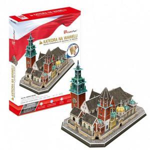 CUBICFUN PUZZLE 3D KATEDRA NA WAWELU 101 EL. PUZZLE 7+ - 2842259882