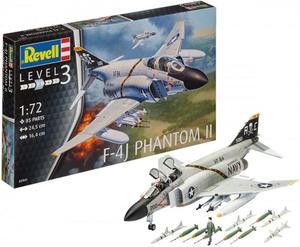 REVELL F-4J PHANTOM US NAVY SKALA 1:72 - 2850605278