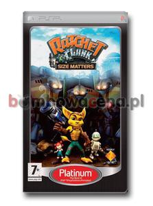 Ratchet & Clank: Size Matters [PSP] Platinum - 2051168144