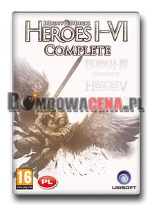 Heroes of Might Magic I-VI: Complete [PC] PL - 2051168263