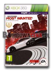 Need for Speed: Most Wanted [XBOX 360] PL - 2051168532