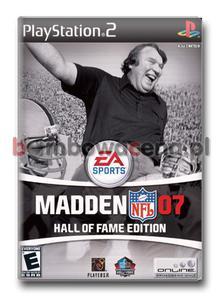 Madden NFL 07 Hall Of Fame Edition [PS2] NTSC USA - 2051167884