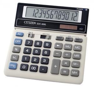 Kalkulator Citizen SDC 868L - 2868520599