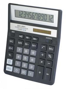 Kalkulator Citizen SDC-888X czarny - 2873578921