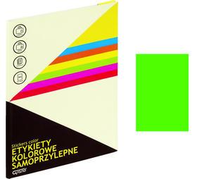Etykiety samoprzylepne Grand zielone /25 arkuszy/ 063 - 2873300734
