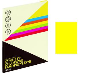Etykiety samoprzylepne Grand żółte /25 arkuszy/ 064 - 2873719408