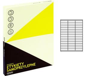 Etykiety samoprzylepne Grand 70x16,9mm /100 arkuszy/ 007 - 2862993495