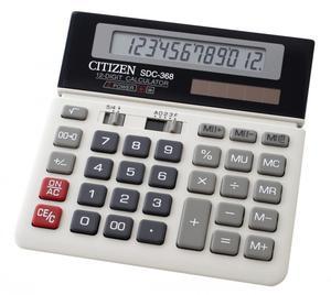 Kalkulator Citizen SDC 368 - 2868520640