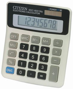 Kalkulator Citizen SDC 8001 - 2850665241