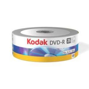 DVD-R 4,7GB Kodak 16x spindle 25szt - 2855515754