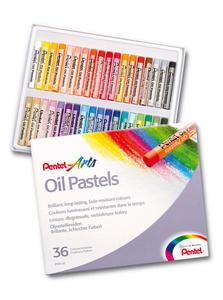 Pastele olejne Pentel 36 kolorów PHN 36 - 2862993497