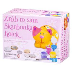 Zrób To Sam Skarbonka Kotek - 4M - 1130194339
