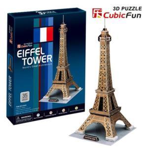 Puzzle 3D Wieża Eiffel'a - Cubic Fun - 1130193870