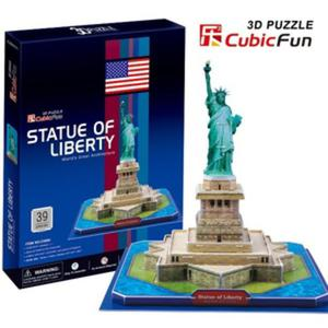 Puzzle 3D Statua Wolności - Cubic Fun - 1130193864