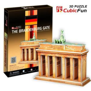 Puzzle 3D Brama Brandenburska - Cubic Fun - 1130193842