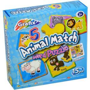Puzzle Poznajemy Zwierzęta - Grafix - 1130193896
