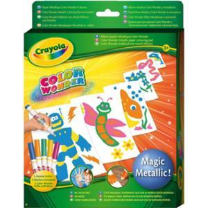 Magiczne Metaliczne Kolorowanie - Crayola - 1130193448