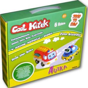 Cool Kitek Masa Plastyczna Autka - Sellmar - 1130192583