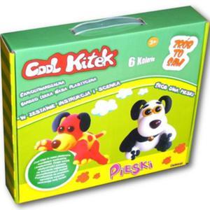 Cool Kitek Masa Plastyczna Pieski - Sellmar - 1130192584