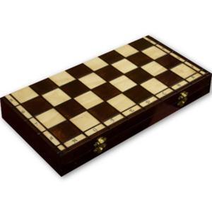 Drewniane Szachy, Warcaby, Backgammon - Filipek