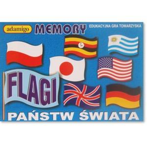 Flagi Gra Memory - Adamigo