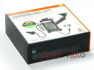 Uchwyt Samochodowy iPhone 3GS 4 4S Samsung Galaxy S2 Griffin  + Ładowarka Samochodowa USB Griffin - 1559760136