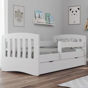 Białe Łóżko 160x80 CLASSIC 1 - 2852785043