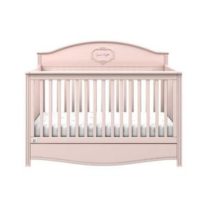 Łóżeczko z funkcją sofy 140x70 Good Night Flamingo (pastelowy róż) - 2866343792