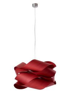LZF :: Lampa wisząca Link Duża 69x40 cm czerwona - czerwony - 2823061237