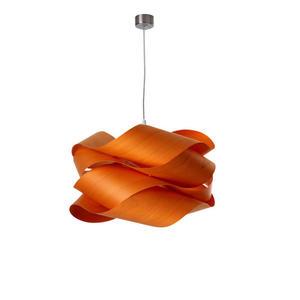 LZF :: Lampa wisząca Link Mała pomarańczowa 42x24 - pomarańczowy - 2823061530
