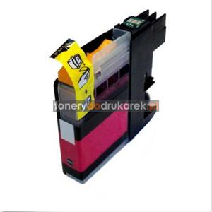 Brother LC123M tusz do drukarek magenta nowy zamiennik DCP-J4110DW MFC-J4410DW MFC-J4510DW MFC-J4610DW Brother LC123M tusz do drukarek magenta nowy zamiennik - 2833200437