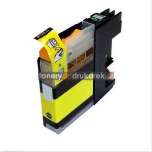 Brother LC125Y tusz do drukarek yellow nowy zamiennik DCP-J4110DW MFC-J4410DW MFC-J4510DW MFC-J4610DW MFC-J4710DW MFC-J6520DW MFC-J6920DW Brother LC125Y tusz do drukarek yellow nowy zamiennik - 2833200442