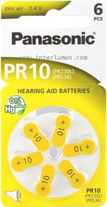 Słuchowa PR-10 Panasonic 1.4V Zinc Air Bateria słuchowa 10 - 2832733381