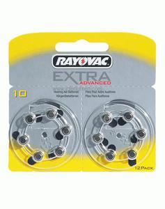 Słuchowa DA 10 RAYOVAC 1.4V B=12 USA Bateria słuchowa 10 - 2836206490