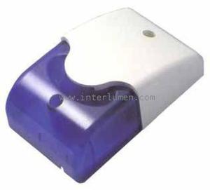 Syrena optyczno-akustyczna 12V DC niebieska - 2836206853