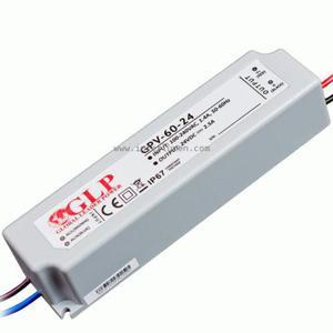 Zasilacz impul. 24V DC 2,5A 60W IP67 GPV-60-24 Zasilacz 60W 24V Global Power LG-GPV-60-24 - 2832733938
