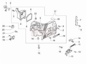 Części skrzyni korbowej, pompa olejowa, przewód, napinacz łańcucha, korek pilarki Oleo-Mac 941CX -Schemat - 2865414373