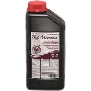 Olej silnikowy SAE30 do czterosuwowych silników spalinowych RED MOUNTAIN - 2832222170