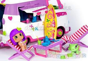 Pinypon Laleczka z pojazdem turystycznym - 1742798737