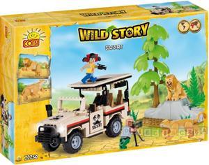 Wild Story Safari 250 kl. - klocki Cobi 22250 - 1742799278