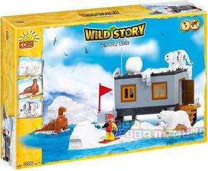 Wild Story - Baza zimowa 300 kl. - klocki Cobi 22300 - 1742799386