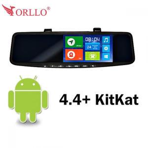 Kamera + kamera cofania + lokalizacja GPS + nawigacja samochodowa Orllo LX-400GT PRO - na lusterko - 2822237985