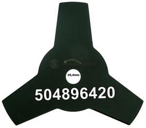 Tarcza, nóż 3-zębny do kosy spalinowej - 2833454648