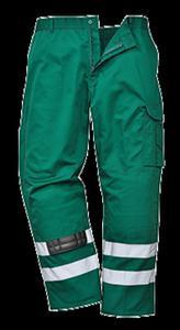 db80cc540f8050 Spodnie robocze bojówki odblaskowe S917 Portwest - BottleG - 2824925585