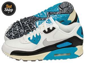Sklep: big pl buty nike air max 90 zielono czarne 268