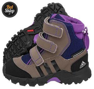 56b0311bd2d81 Buty Adidas Holtanna Snow CF PL I (G97266) Adidas. Obuwie Dziecięce / Kozaki