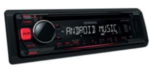 RADIO SAMOCHODOWE KENWOOD KDC-110 RED GREEN - 2829396368
