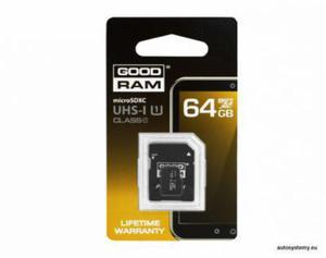 KARTA PAMIĘCI MIKRO SD 64 GB GOOD RAM - 2829395660