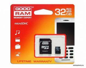 KARTA PAMIĘCI MIKRO SD 32 GB GOOD RAM + adapter - 2829395661